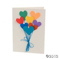 Balloon Card Project Idea