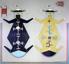 """Navajo creation story – The First World """"Nihodilhil"""" (Black World) The creatures of the Navajo First World are thought of as the Mist People they had no definite form, but were to change to men, beasts, birds, and reptiles of this world. More about the Navajo First World below: http://navajopeople.org/blog/navajo-creation-story-the-first-world-nihodilhil-black-world/"""