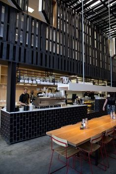 melbourne cafes photo blog: Industry Beans Warehouse 3, Cnr Rose & Fitzroy Streets Fitzroy 3065: