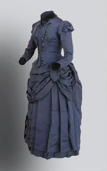 Day Dress, Circa 1885, Collection of the Mount Holyoke College Theatre Department