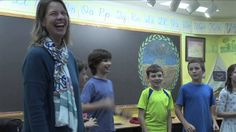 Rhythmical counting using the Four's table in the grade 1 Waldorf math classroom. This video features the 3rd grade class of Shining Mountain Waldorf School ...