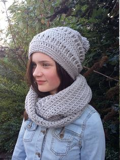 dcd9225d291 Hat and Scarf Set Hat and Scarf Women s Hat and Scarf Christmas Gifts For  Mum