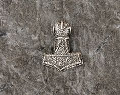 BREDSATRA THORS HAMMER 925 silver by NordEmporium on Etsy