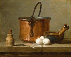 Jean-Baptiste-Siméon Chardin - Still Life, c.1732]
