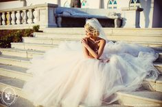Glamourous Bridal Portraits | Christina Carroll Photography