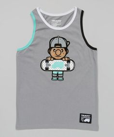 529633605912c0 This Monument Gray Skater Tank by TRUKFIT is perfect!  zulilyfinds Tank  Man
