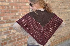 Ravelry: Colonnade Shawl pattern by Stephen West