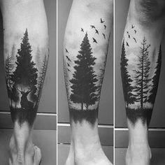 Resultado de imagem para tatuagem de arvore