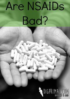 Are NSAIDs Bad? How NSAIDs can lead to leaky gut and how to decrease that through supplements.