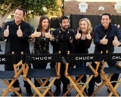 CHUCK: I cant believe its over:( i miss it already!  Guys! I know kung-fo!!:)