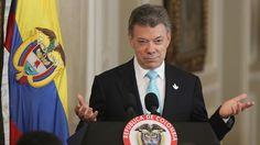Presidente Santos afirma donará dinero del Nobel a víctimas de conflictos en su país