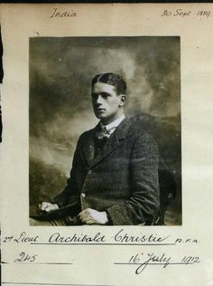 Archibald Christie in 1912