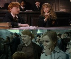 Theirs is the classic hate-to-friendship-to-love story. And it's beautiful. | For Everyone Who Thinks Hermione Should Have Ended Up With Harry