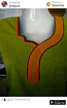 Salwar Neck Patterns, Salwar Neck Designs, Churidar Designs, Kurta Neck Design, Chudithar Neck Designs, Neck Designs For Suits, Neckline Designs, Dress Neck Designs, Fancy Dress Design