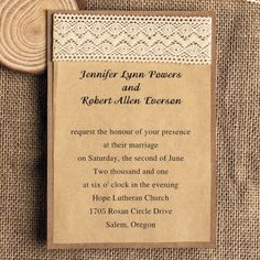 This lovely pink wedding invitation is perfect for a wedding or any other special event! A beautiful, light floral damask pattern fills the background, while darker damask is positioned to the border of your invitatio...