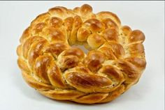 Braided Kolach Yeast Bread a Must for Ukrainian Christmas: Ukrainian Kolach