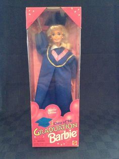 New Mattel #15003 Graduation Barbie Doll Class Of 1986 Special Edition #Mattel #DollswithClothingAccessories