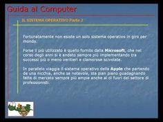 Lezione 52 (VIDEO) - IL SISTEMA OPERATIVO PARTE 2. Ora inizio la presentazione informativa di alcuni tra i sistemi operativi più utilizzati al mondo.