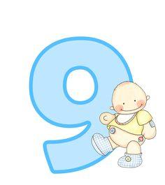 Alfabeto con lindo bebé.   Oh my Alfabetos!