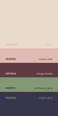 color and psychology Flat Color Palette, Color Palette Challenge, Colour Pallette, Color Palate, Color Combos, Pantone Colour Palettes, Pantone Color, Couleur Hexadecimal, Inmobiliaria Ideas
