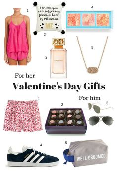 Stumped on what to get your sweetie this Valentine's Day? Try shopping these Valentine's Day gift ideas for Him and Her to get your creativity going.
