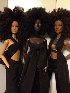 They're like the natural Barbie version of Destinys Child!!