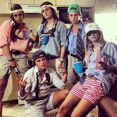 The 5 Best Sorority Group Halloween Costumes. Our favorite time of year is almost here! We love dressing up, but sometimes need inspiration for Halloween costumes.  We compiled a list of our favorite group costumes we've seen so that you can coordinate with your sorority sisters! http://www.greeku.com/blog/5-best-sorority-group-costume-ideas/