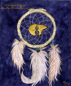 Spirit Bear Wellness - dreamcatcher logo by Heather Kilgore - SBW offers Reiki healing sessions, Reiki I-IV classes and attunements with many more metaphysical, healing and wellness classes to come! More at http://www.SpiritBearWellness.com