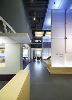 Perkins+Will workspace in Research Triangle Park, North Carolina
