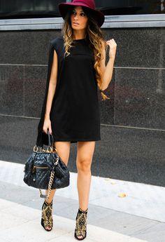 LBD  , www.romwe.com in Dresses, zara in Heels / Wedges, Marc Jacobs in Bags