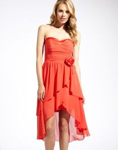 Lipsy Corsage Layered Bandeau Dress...LOVE