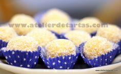 Trufas de coco/Coconut balls