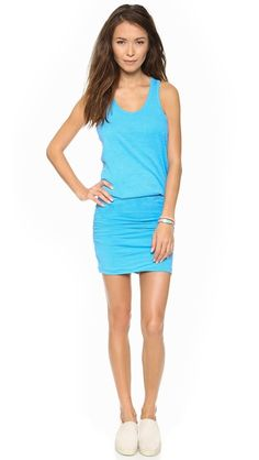 SUNDRY Ruched Tank Dress. $136