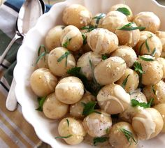 Potato Salad with Lemon Herb Dressing - Quick and Easy Recipes, Organic Food Recipes, New Zealand Cooking Recipes - Annabel Langbein
