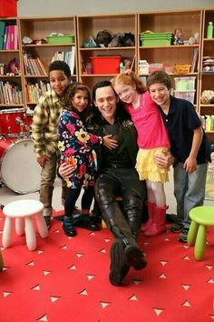 Too precious!!!---To all those people who think Loki wouldn't be good with kids