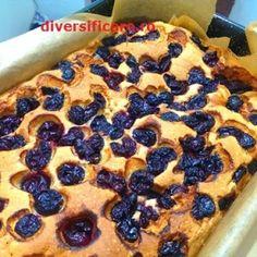Prăjitură cu vișine (de la 3 ani) Pie, Desserts, Food, Torte, Tailgate Desserts, Cake, Deserts, Fruit Flan, Pies