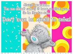 Ted Quotes, Hello August, Teddy Bear Pictures, Blue Nose Friends, Happy Easter Everyone, All The Small Things, Tatty Teddy, Cool Pets, Inspirational Message