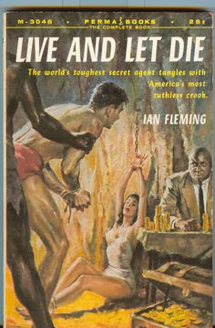 LIVE AND LET DIE by Ian Fleming (Perma).