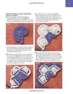 Learn To Do Bavarian Crochet - Mirilla mirilla - Picasa Web Albums Crochet Motifs, Crochet Squares, Crochet Doilies, Crochet Stitches, Knitting Projects, Crochet Projects, Knitting Patterns, Crochet Patterns, Beau Crochet