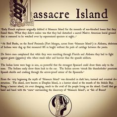 The story behind the third serpent in the collection....Massacre Island