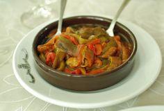 Wood roasted peppers in Haro, Rioja, Spain | NY Food Journal