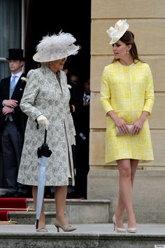Camilla and Kate at the Queen's garden party