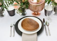 Copper Inspired Wedding Shoot from House of Earnest Read more - http://www.stylemepretty.com/2013/10/16/copper-inspired-wedding-shoot/