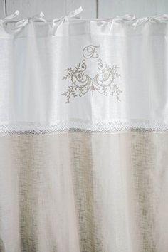 details zu raff gardine elegance rollo 140x100 wei lillabelle shabby landhaus vintage rollo. Black Bedroom Furniture Sets. Home Design Ideas