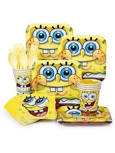 SpongeBob Party kit