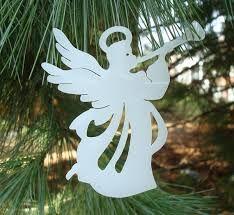 Znalezione obrazy dla zapytania laser cut christmas decoration angel