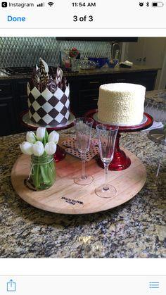 Mini wedding cake replicas     Www.facebook.com/tinykitchencakery