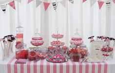 The Vintage Sweetshop - Retro Sweet Shop Wedding Candy Buffet