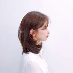 Medium Hair Cuts, Medium Hair Styles, Short Hair Styles, Hair Inspo, Hair Inspiration, Grad Hairstyles, Aesthetic Hair, Asian Hair, Layered Hair