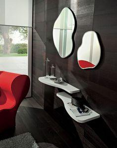 Ingresso PR-NANCY art. 535: 2 specchi, 2 mensole, 2 appendiabiti.http://www.rifutura.it/it/nuovo/dettaglio.htm?id=386